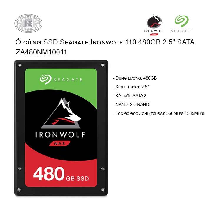 Ổ cứng SSD Seagate Ironwolf 110 480GB 2.5
