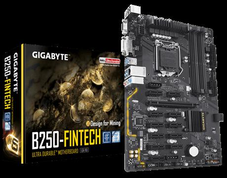 Main Gigabyte B250 FINTECH