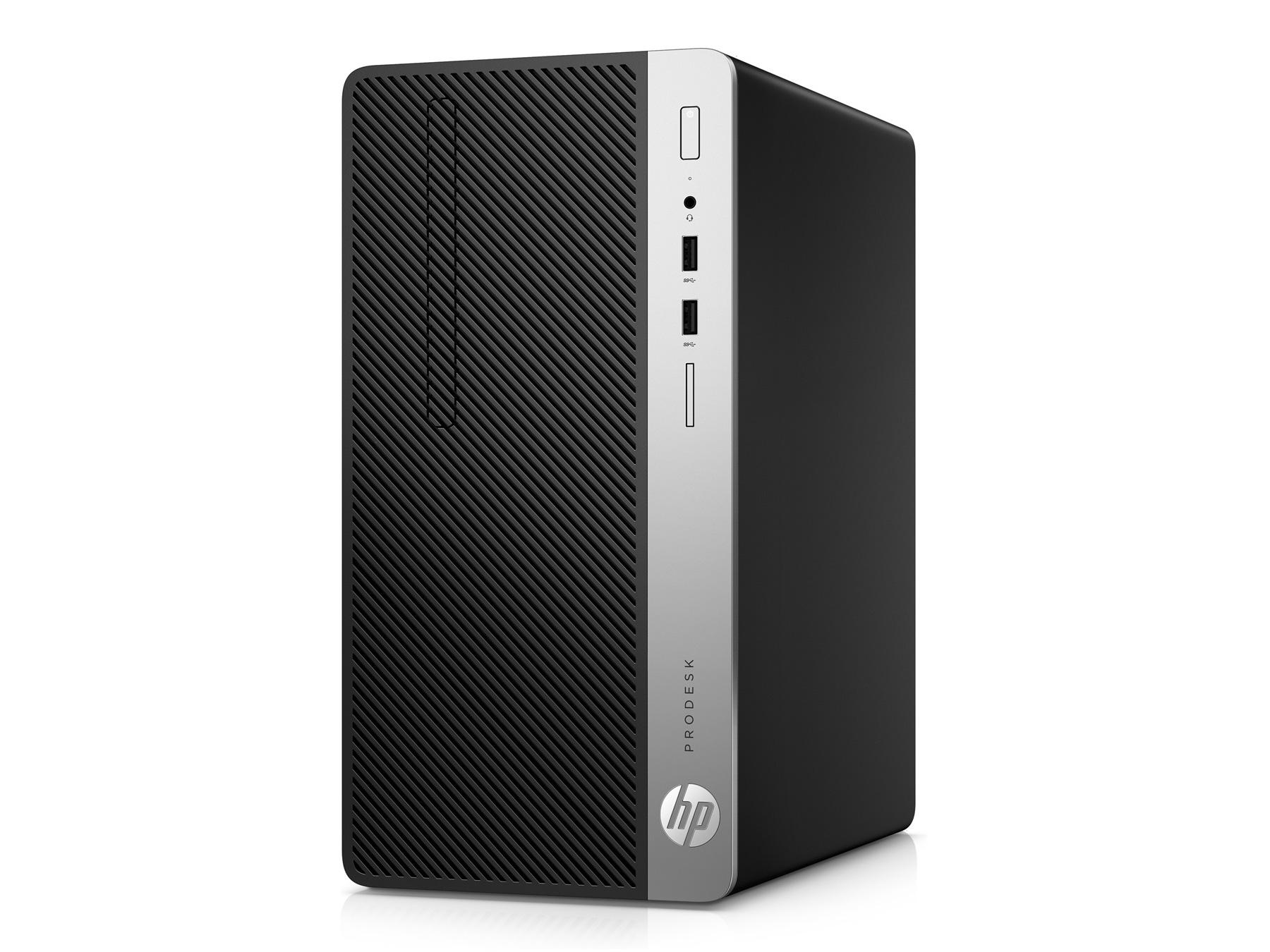 Máy bộ HP ProDesk 400 G4 MT - 1HT52PA - G4560(2*3.5)/4GD4/500G7/DVDRW/KB/M/ĐEN/DOS