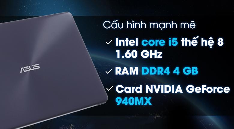 Laptop Asus X510UQ-BR632Ti5-8250U / 4GB/1TB/GT940MX/2GB
