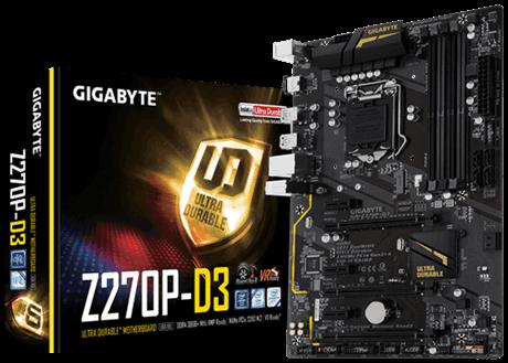 Main Gigabyte Z270P-D3