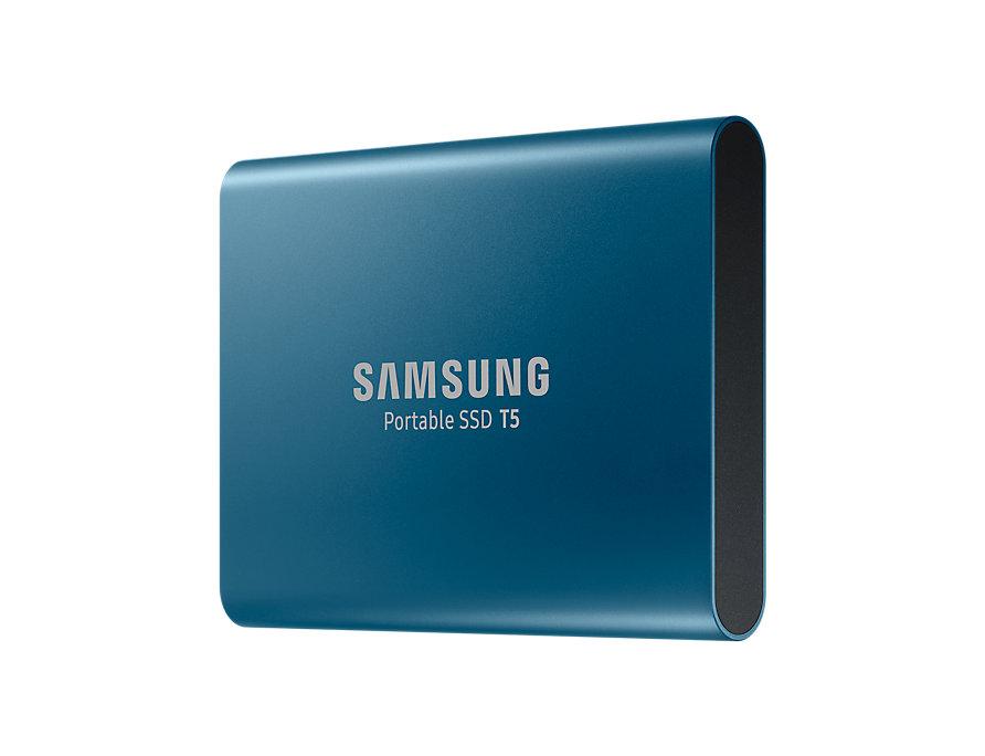 Ổ cứng di động Samsung SSD T5 - 500GB (Blue) MU-PA500B/WW