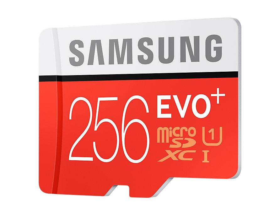 Thẻ nhớ MicroSD Samsung Evo plus - 256GB - Kèm Adapter MB-MC256DA/APC