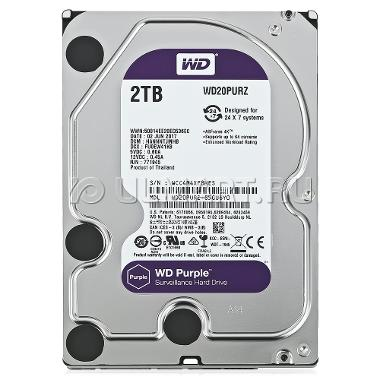 HDD WD Purple 2TB - WD20PURZ