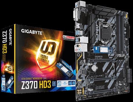 Main Gigabyte Z370 HD3 OP