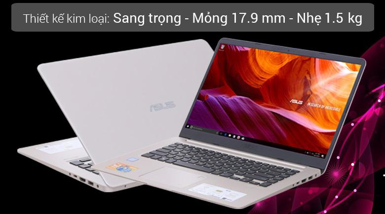 Laptop Asus S510UA-BQ414Ti5-8250U / 4GB/1TB/UMA
