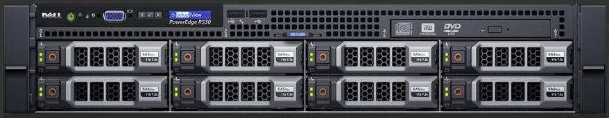 Máy chủ Dell PE R530 E5-2620 v4/8gb RDIMM