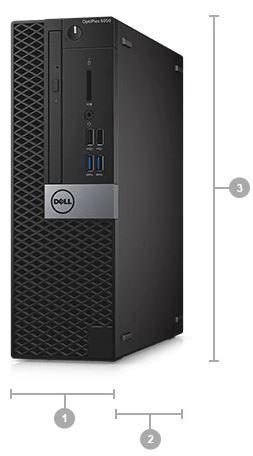 Máy Bộ Dell OptiPlex 5050 SFF 42OT550002 i5 7500/8GB/1TB/DVDRW/K+M/DOS