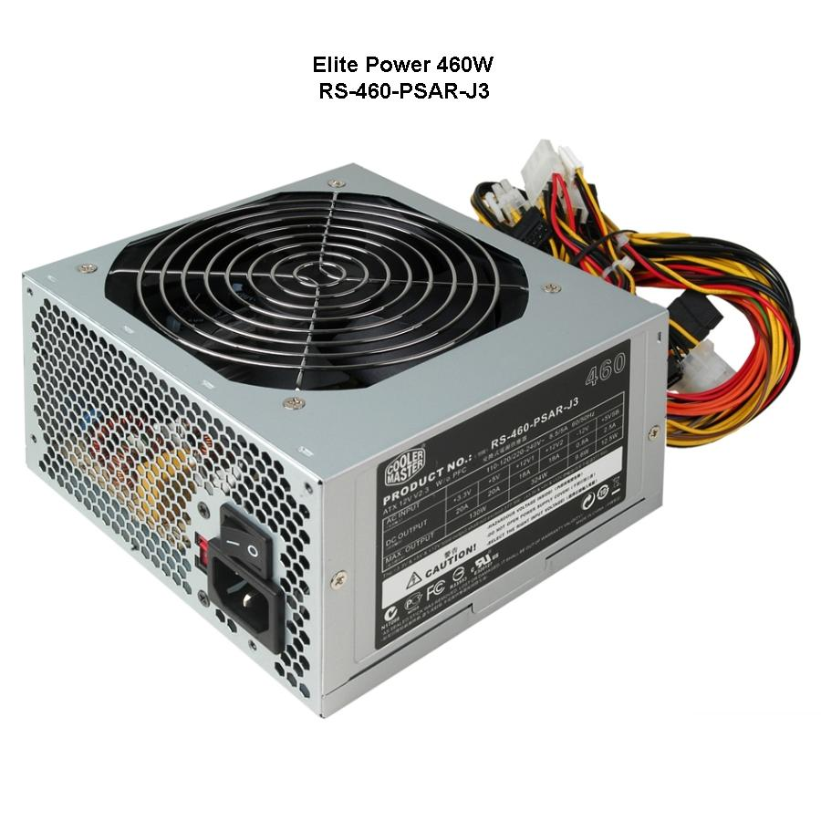Nguồn Cooler Master 460W ELITE
