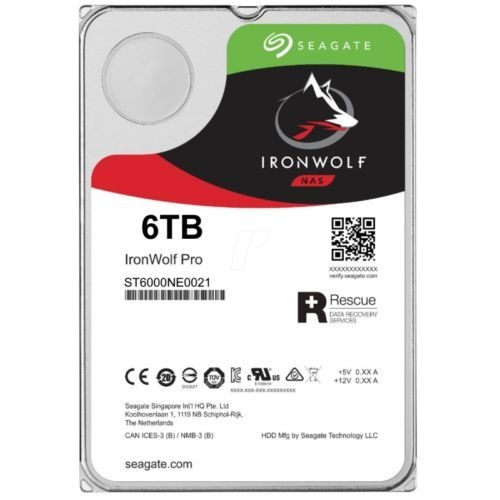 Ổ cứng HDD SEAGATE IronWolf Pro ST6000NE0021 - 6TB