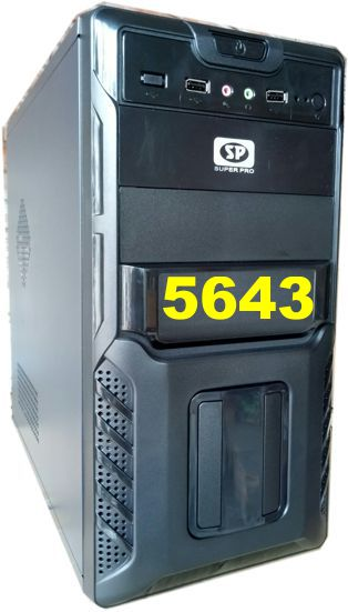 Vỏ máy vi tính SP 5643Black