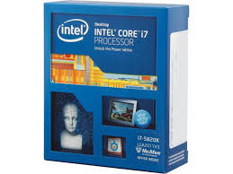 Core i7 5820K Haswell-E (3.3 ghz)