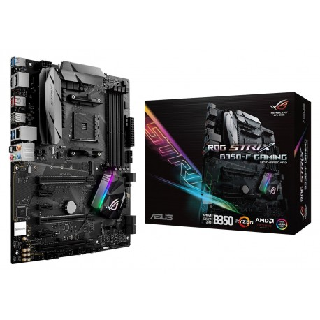 Main Asus ROG STRIX B350F GAMING