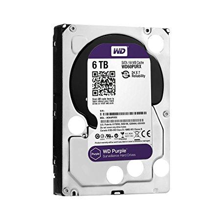 HDD WD Purple 6TB  - WD60PURX/PURZ TÍM