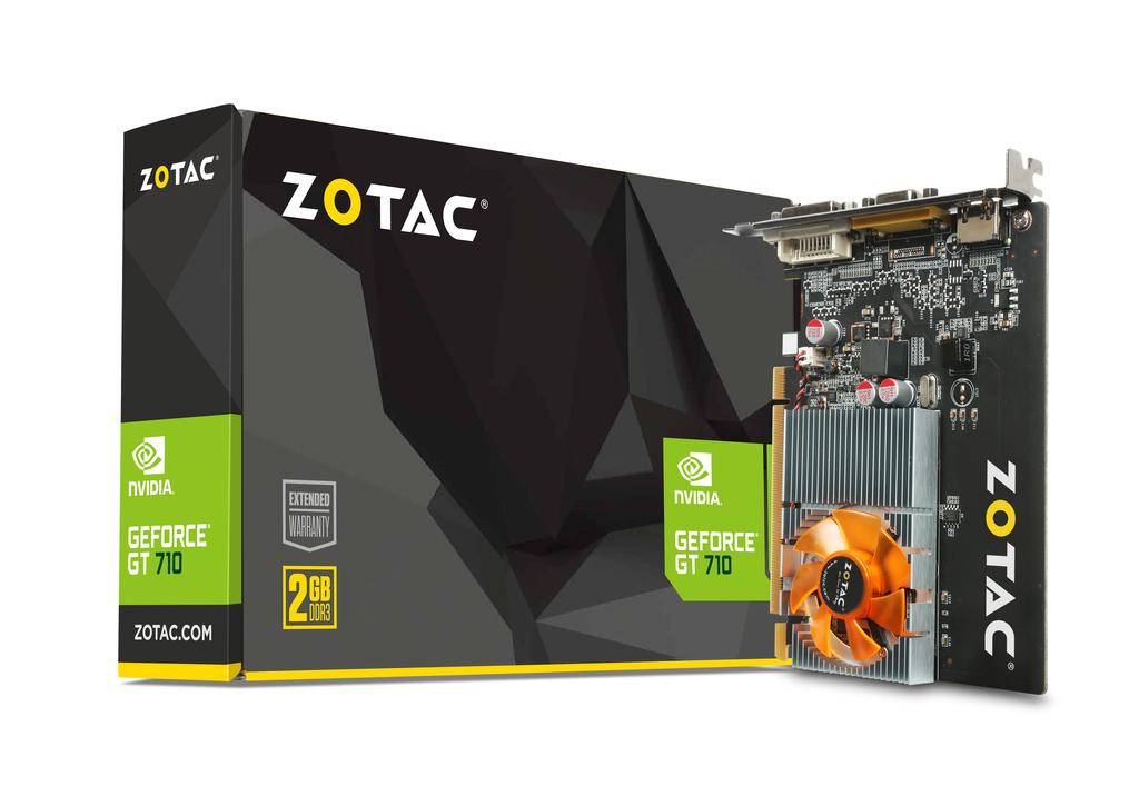 Card màn hình Zotac GT710 2GB DDR3 64 Bit