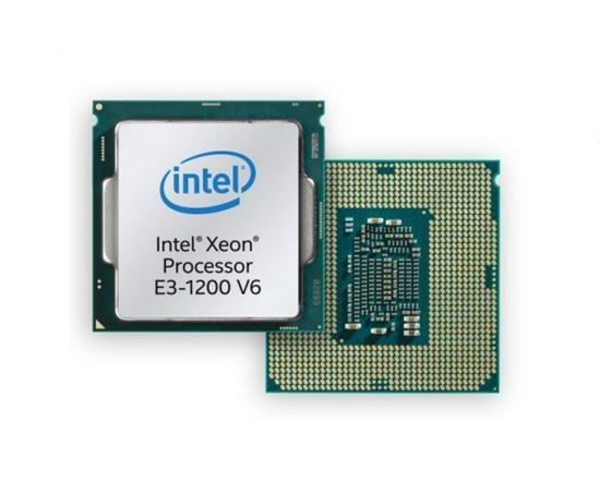 CPU Intel Xeon E3-1220 v6 3.0GHz, 8M cache, 4C/4T, turbo (72W)