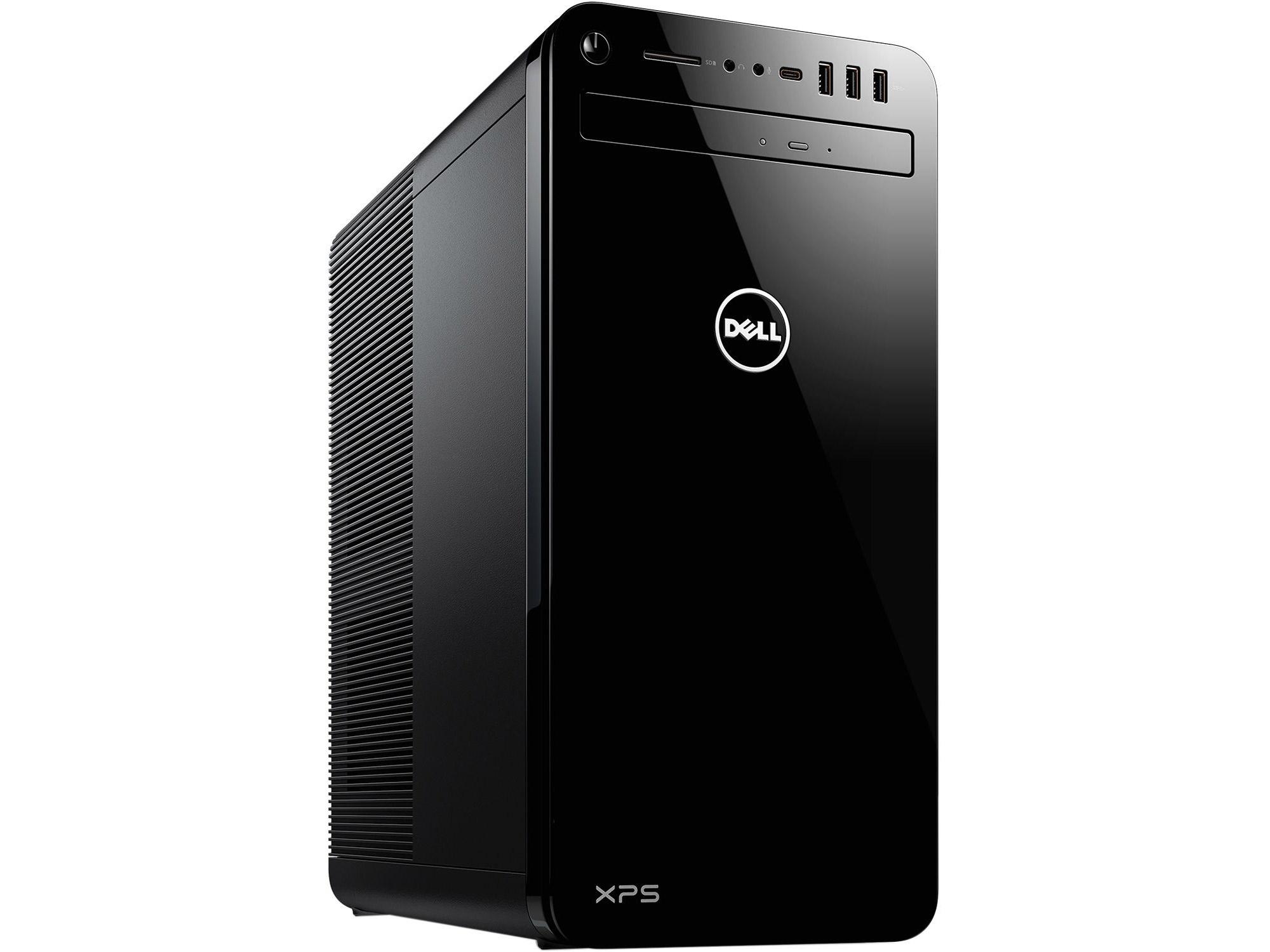 Máy tính bộ Dell XPS 8930 i7 - 8700 ( 3.2Ghz )  - 2x8G Ram - 2TB HDD  + 256G SSD - 6G VGA ( GeForce(R) GTX 1060 )  - DVDRW - Wifi,BT 4.0
