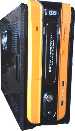 Vỏ máy ví tính slim cap cấp SP 910BO