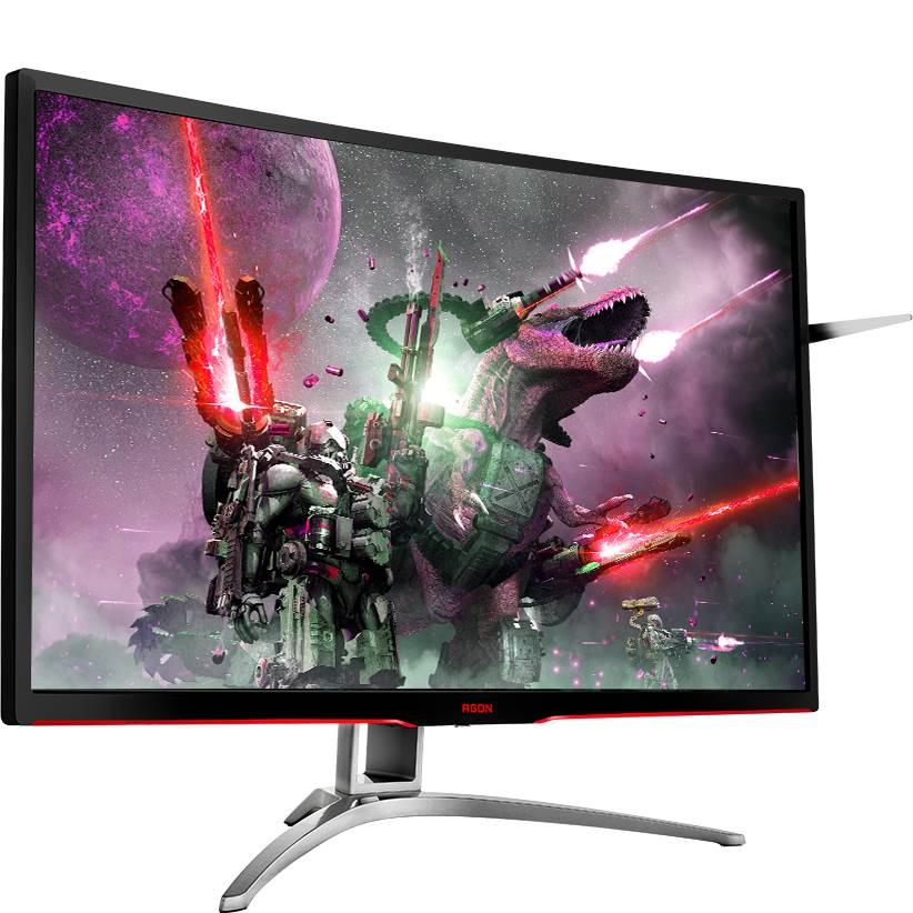 Màn hình AOC 31.5 inch AG322FCX chuyên game cong Full HD 144Hz
