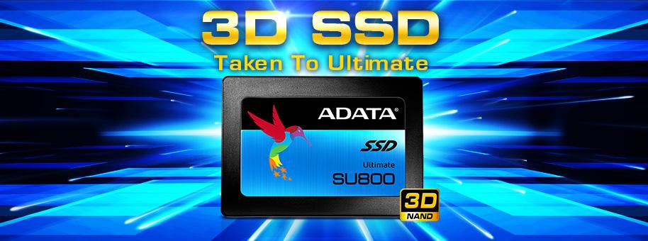 Ổ CỨNG SSD ADATA 3D NAND FLASH 960GB - ASU800