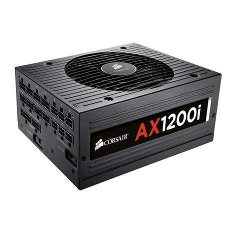NGUỒN MÁY TÍNH CORSAIR - AX1200i - 80 Plus Platinum - Corsair Link - Full Modul - CP-9020008-NA