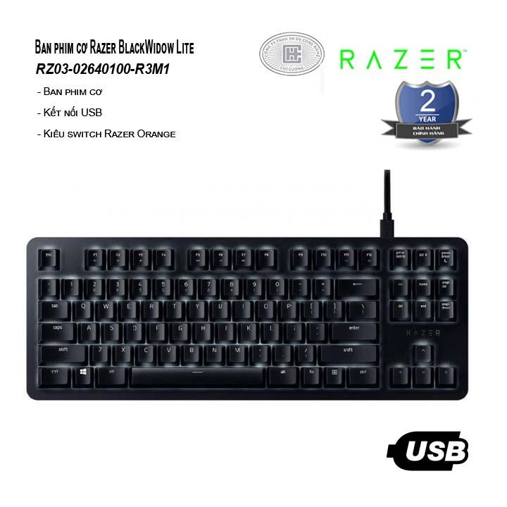 Bàn phím cơ Razer BlackWidow Lite (RZ03-02640100-R3M1)
