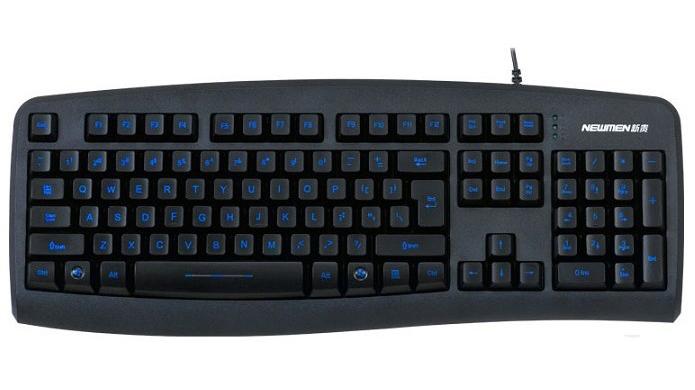Bàn phím máy tính có dây NEWMEN GL100
