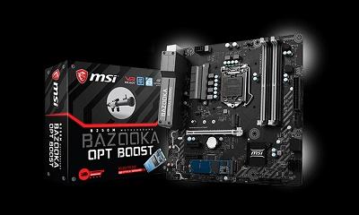 MAIN MSI B250M BAZOOKA OPT BOOST - Socket LGA1151