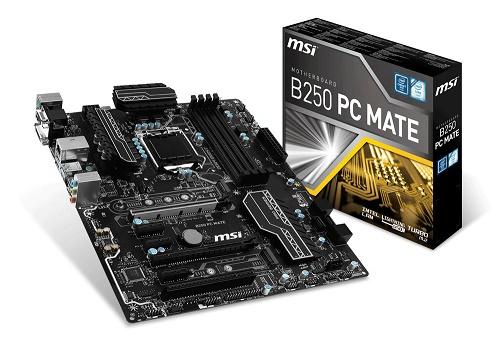 MAIN MSI B250 PC MATE - Socket LGA1151