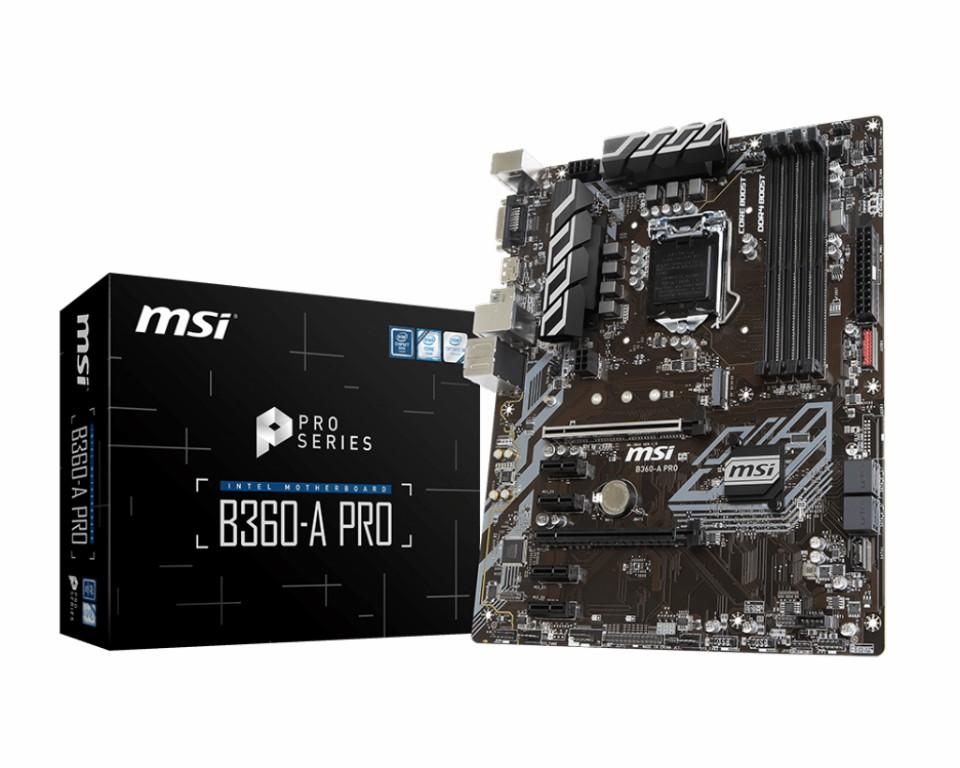 Main MSI B360-A PRO Socket 1151 v2