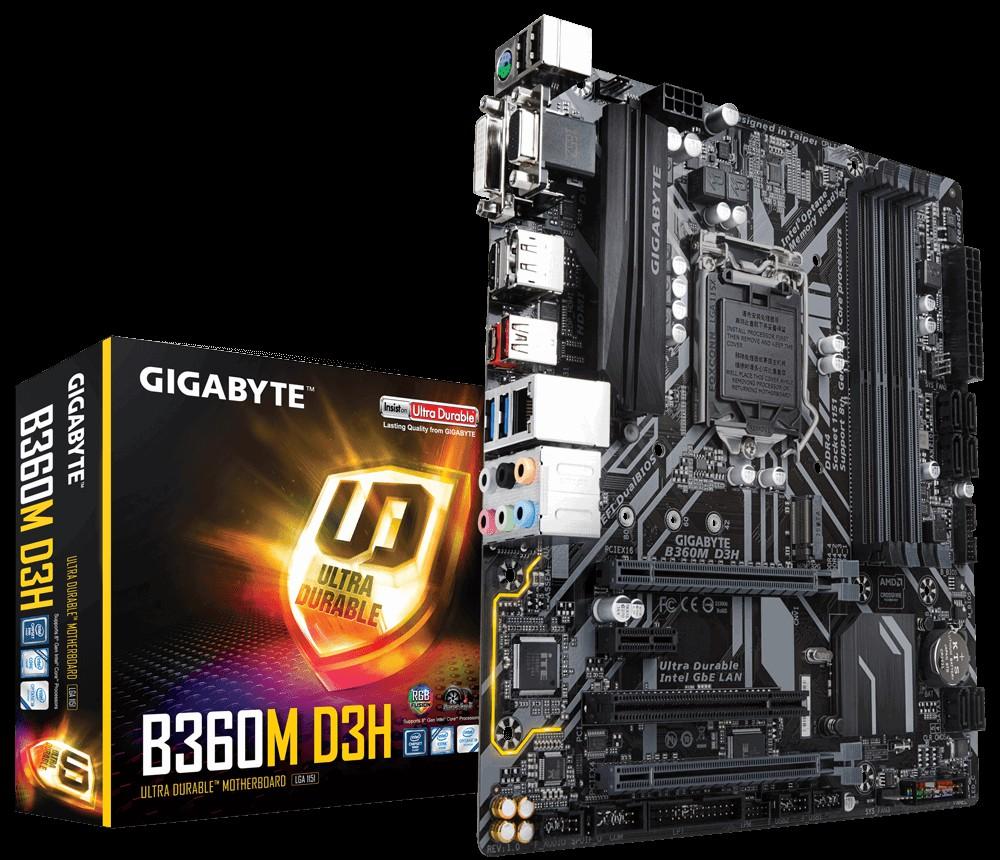 Main Gigabyte B360M D3H Socket 1151 v2