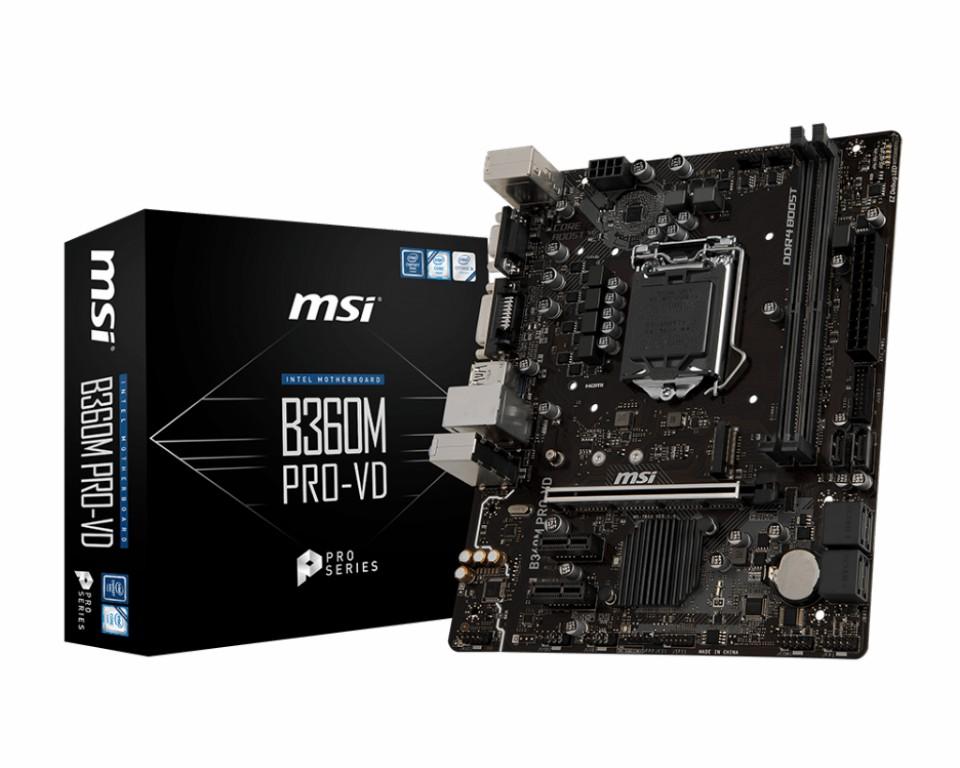Main MSI B360 PRO-VD Socket 1151 v2
