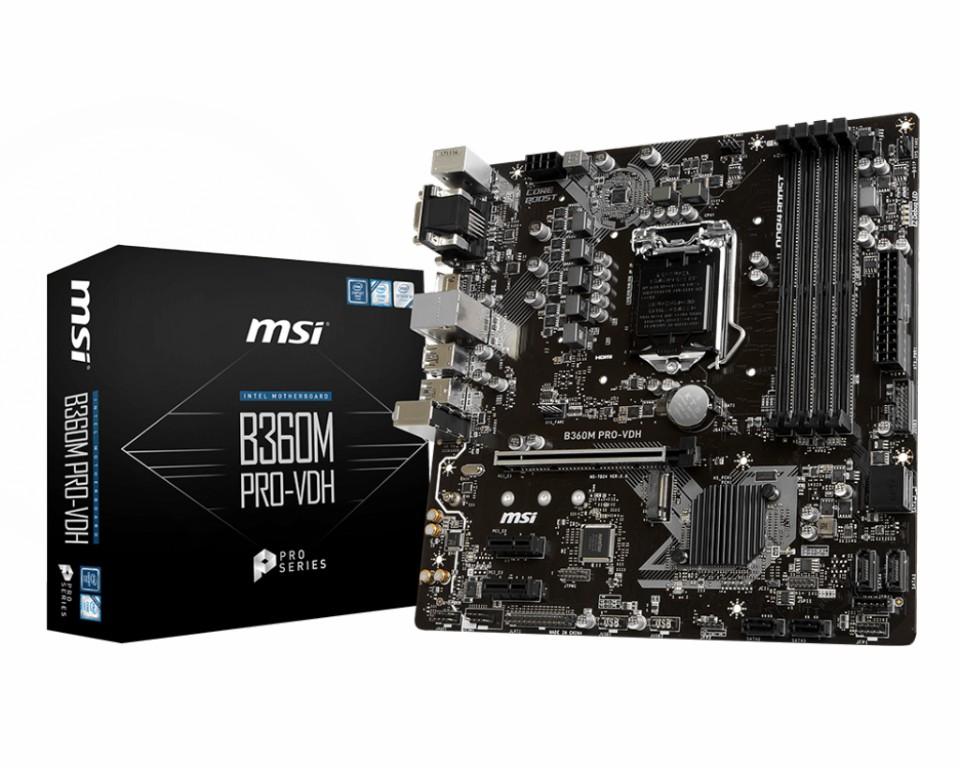 Main MSI B360 PRO-VDH Socket 1151 v2