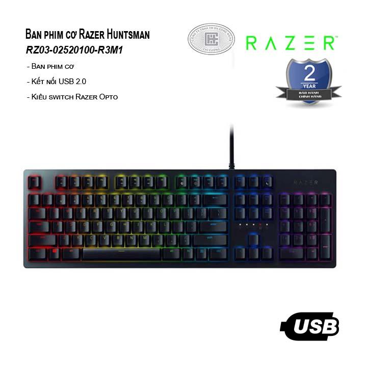 Bàn phím cơ Razer Huntsman (RZ03-02520100-R3M1)