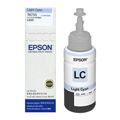 MỰC IN EPSON - C13T673500 LIGHT CYAN - MÁY SỬ DỤNG: L800