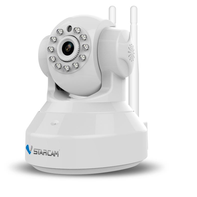 CAMERA KẾT HỢP HỆ THỐNG BÁO ĐỘNG - C37-AR - Camera IP xoay, wifi, hồng ngoại 1MP kết hợp báo động