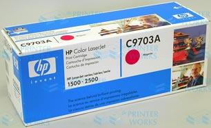 Mực máy in HP Color LaserJet 1500/2500 Màu Đỏ - C9703A
