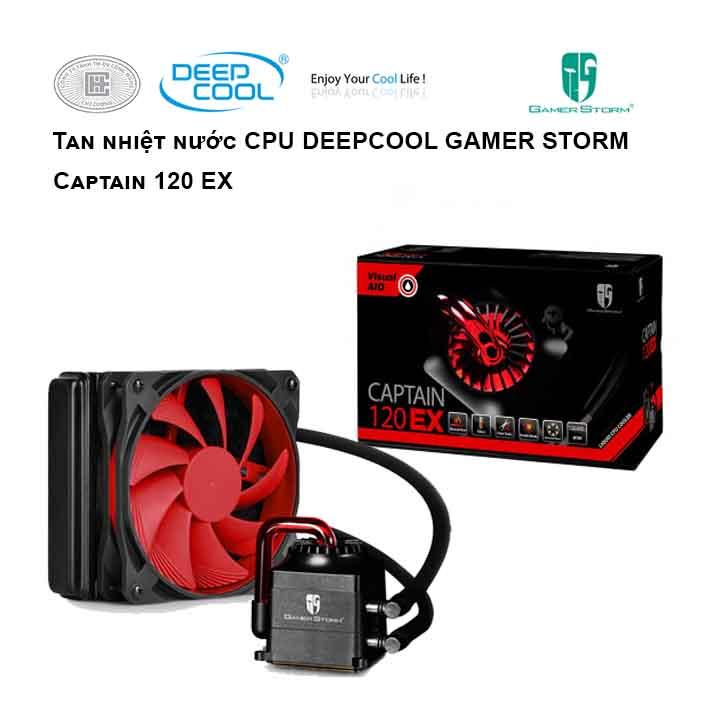 Tản nhiệt nước cho CPU DEEPCOOL Captain 120 EX