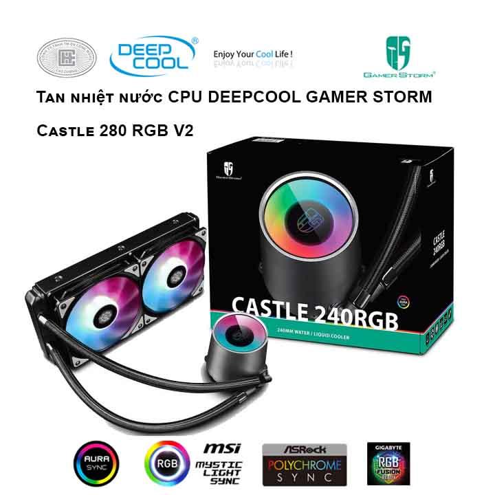 Tản nhiệt nước cho CPU DEEPCOOL Captain 240EX RGB