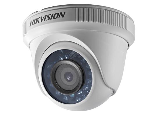 CAMERA HKIVISION HD-TVI  bán cầu ngoài trời hồng ngoại  20m 1 MP - DS-2CE56C0T-IR