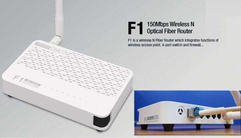 Bộ phát wifi TotoLink F1 - có cổng quang trực tiếp