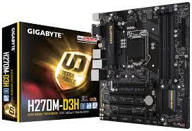 main gigabyte GA-H270M-D3H