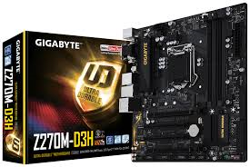 main gigabyte GA-Z270M-D3H