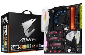 main board gigabyte GA-Z270X-Gaming 9