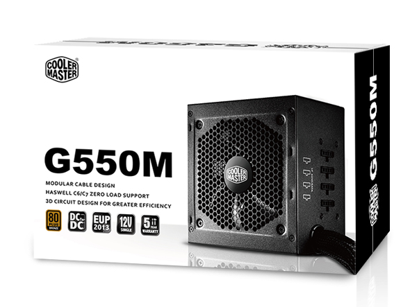 Nguồn Cooler Master GM 550W