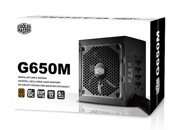 Nguồn Cooler Master GM 650W