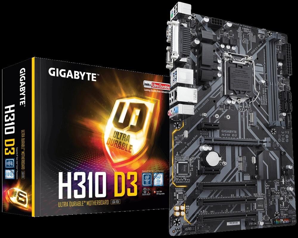 Main Gigabyte H310 D3 Socket 1151 v2