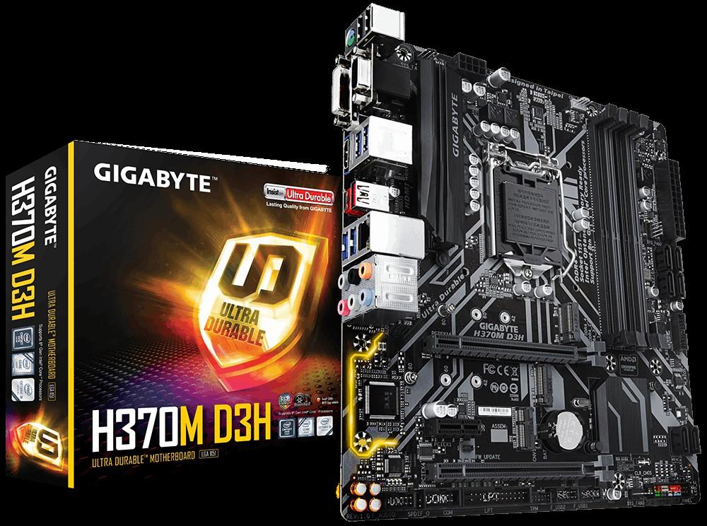 Main Gigabyte H370M D3H Socket 1151 v2