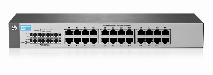 HP 1410-24 Switch J9663A - 10/100 UNMANAGED SWITCH
