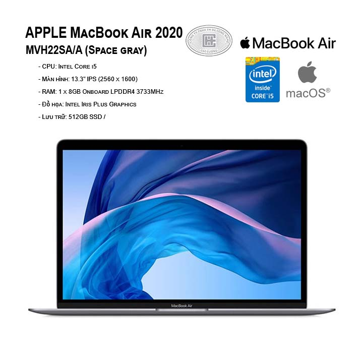 APPLE MacBook Air 2020 MVH22SA/A  (13.3